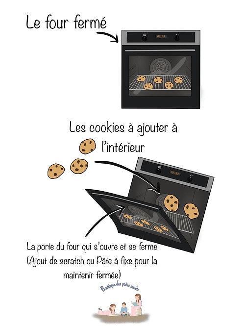 """Jeu """" Mon four à cookies """""""