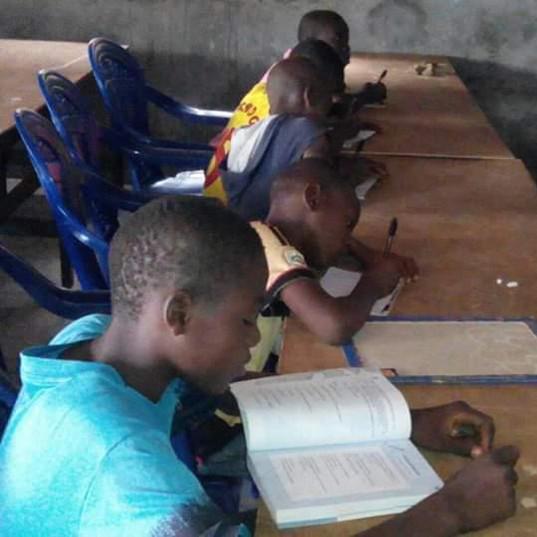 Au foyer de l'espoir, l'éducation est notre priorité