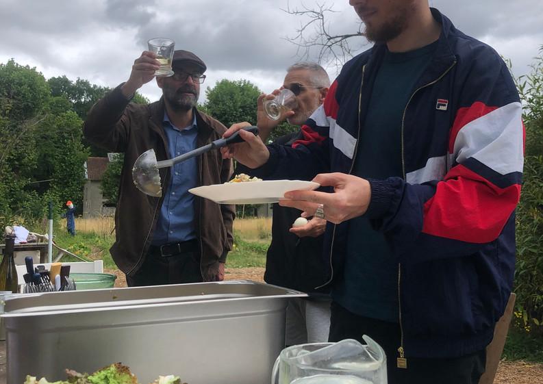 Repas à V'île Fertile