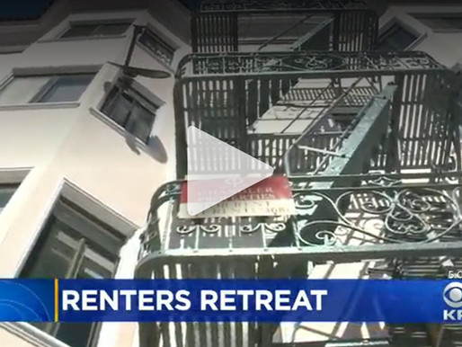 Bay Area Rental Prices Dropping As Exodus From Region Continues