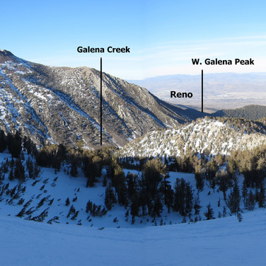 Mt Rose panoramic