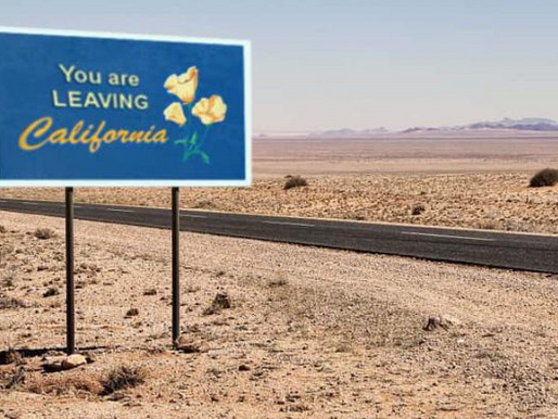 California Businesses Leave the State by the Thousands