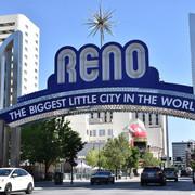 New Reno Arch Sign