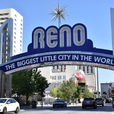 New Reno Arch Sign