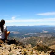 Lake Tahoe as seen from Mt Rose