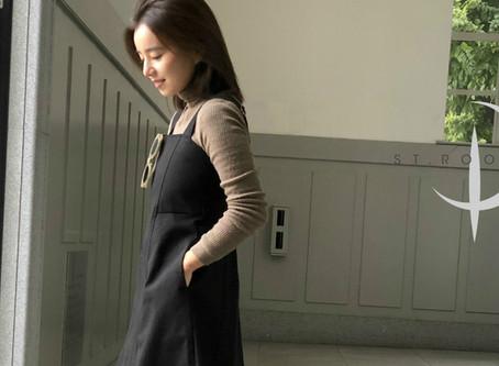 150cm小柄な女性のためのジャンパースカート 登場