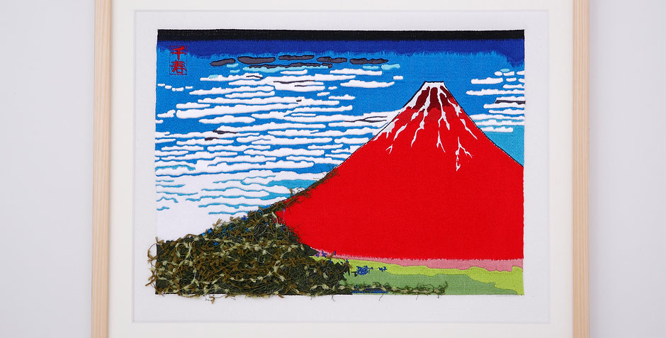 Hokusai   Thirty-six Views of Mt,fuji   Red fuji arrenged version(Part1)