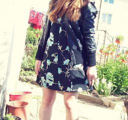 My favourite floral dress.