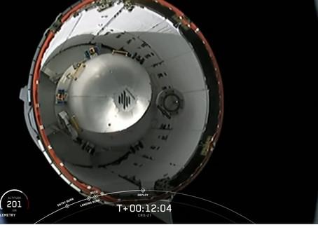 SpaceX lança sua 21ª missão de reabastecimento comercial para a  Estação Espacial Internacional