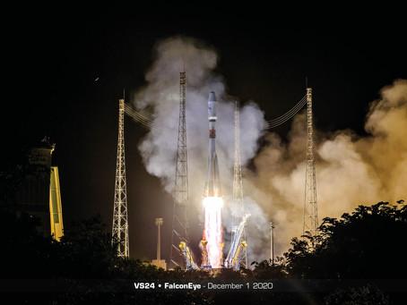 Arianespace lança com sucesso  satélite de observação óptica FalconEye (Flight VS24 )