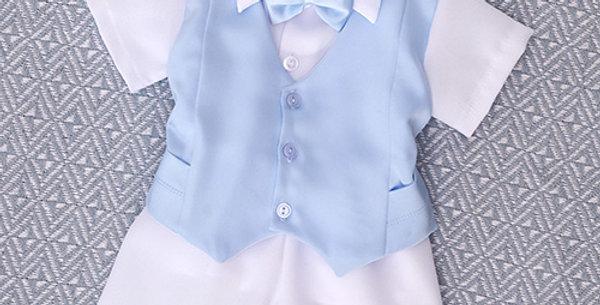 Light Blue with Short Sleeve Shirt