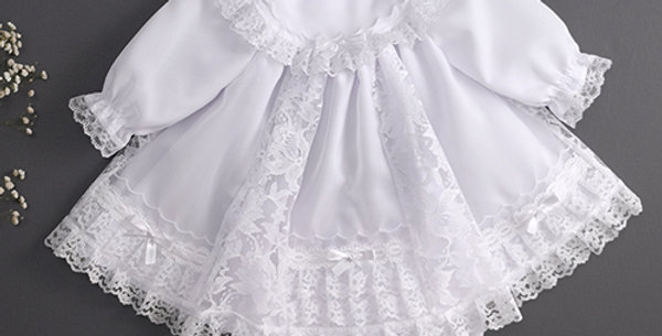Short White Dress Set