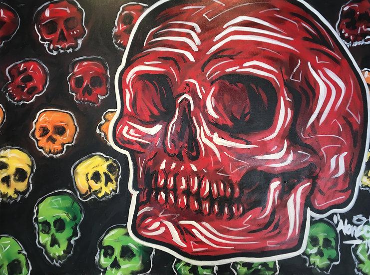 """""""Black Ink Skull"""""""