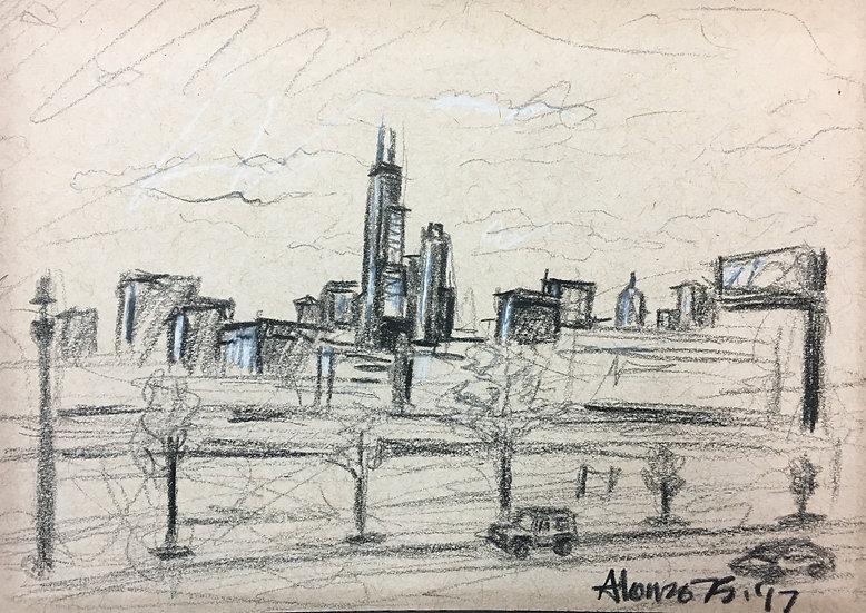 """Downtown Sketch"""