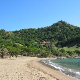 Site vue depuis plage