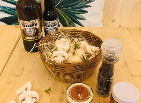 Le Jardin de Line c'est aussi de bons produits du terroir, locaux, frais et sains . . .
