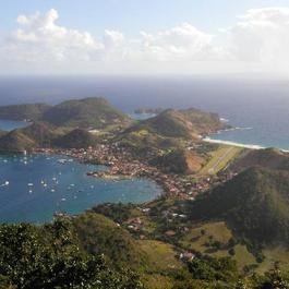 Vue Baie des Saintes
