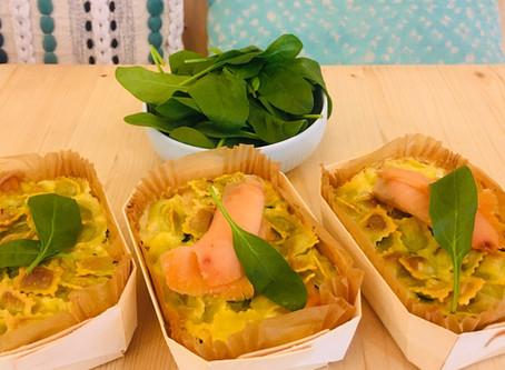 Venez déguster nos gratins ravioles, saumon , épinard frais...