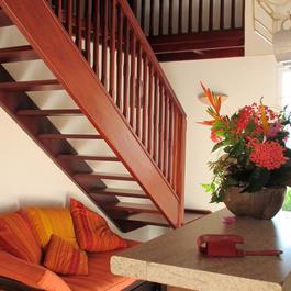 Futon + Escalier