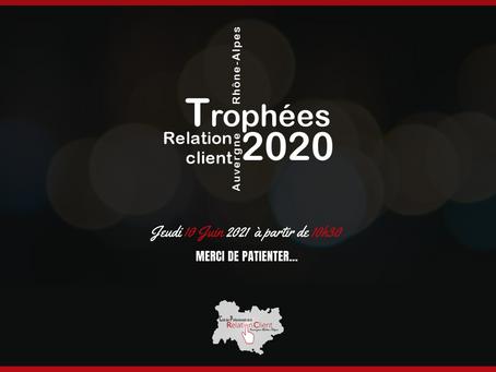 Trophées 2020 de la relation client Auvergne Rhône Alpes
