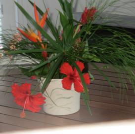 Bouquet arrivée