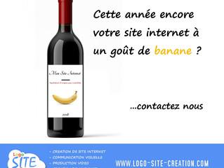 Votre site internet à un goût de banane?