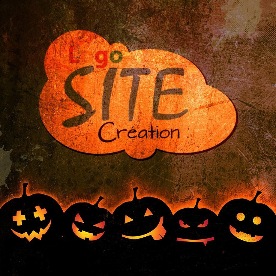 logo site création halloween