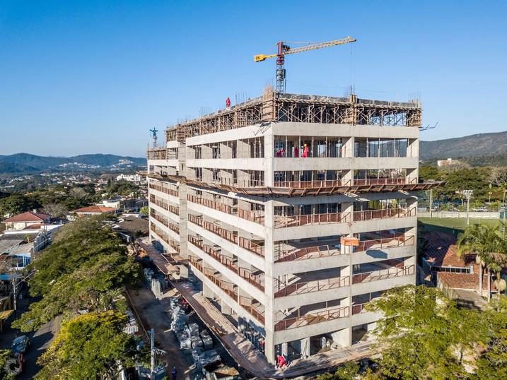 obra carraro tower atibaia 12/07/19