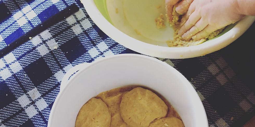 ひよこ豆のお味噌仕込みとアルモンデナンデモナベサ