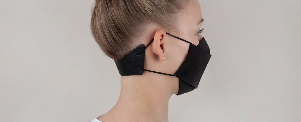 extender. Maskenverlängerung, schwarz
