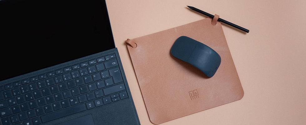 mousepad. Mauspad, beige