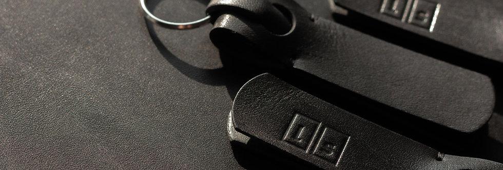 keychain. Schlüsselanhänger, schwarz