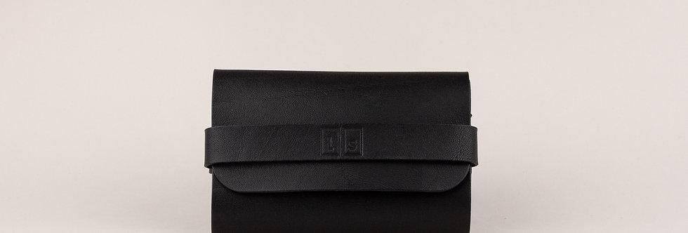 wallet. Portemonnaie, schwarz