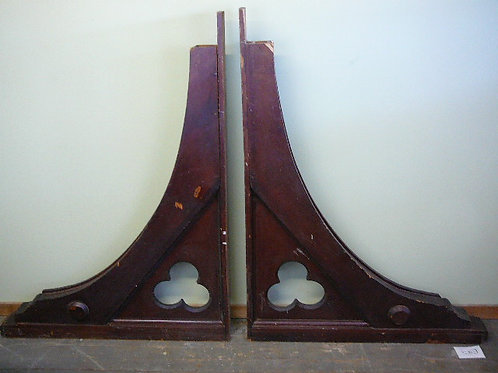 Two Antique Architectural Cathedral Corbel Supports
