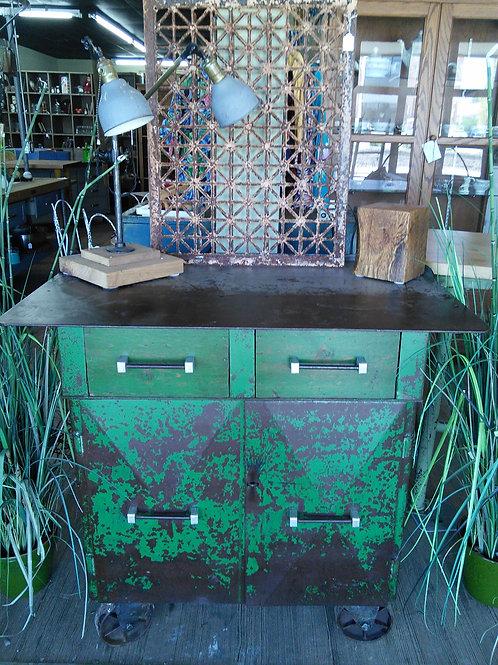 Industrial Cabinet Kitchen Island