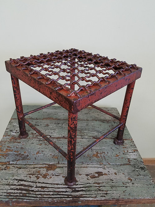 Hand Crafted INDUSTRIAL FACTORY STAND Table