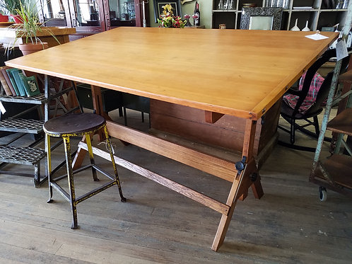 Antique Hamilton Drafting Table