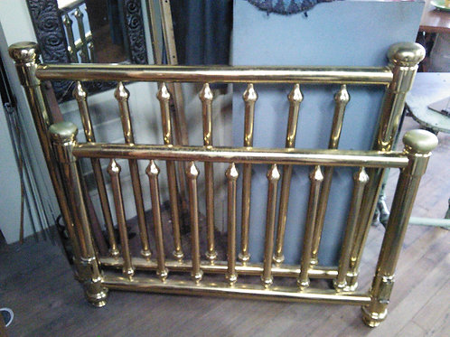 Vintage Brass Bed