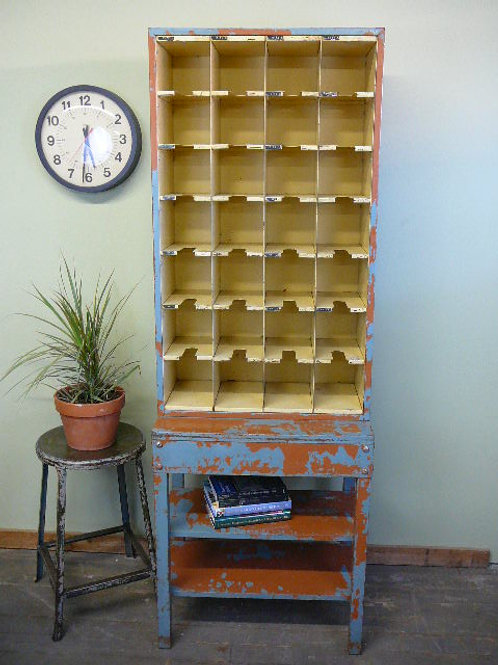 Post Office Cubbie Organzier Cabinet
