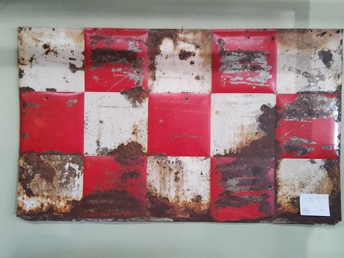 Vintage Red & White Purina Tin