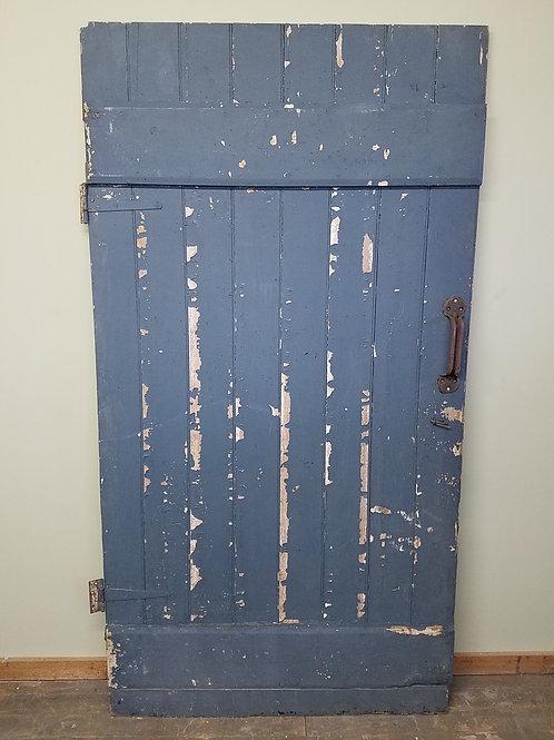 Old Blue Barn Door