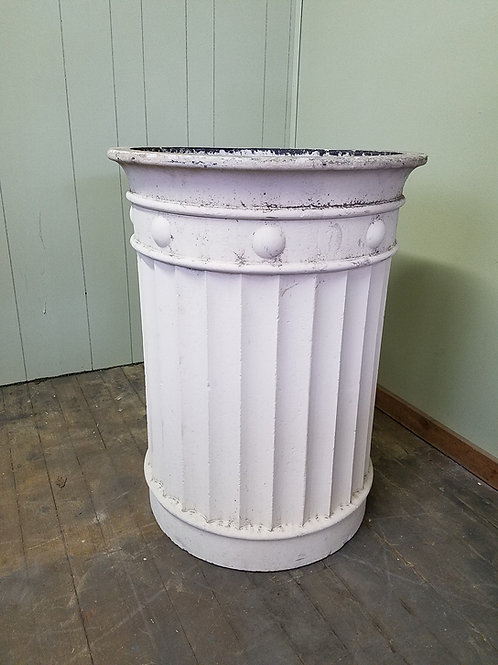 Large Heavy Duty Industrial Concrete Planter / Trash Can