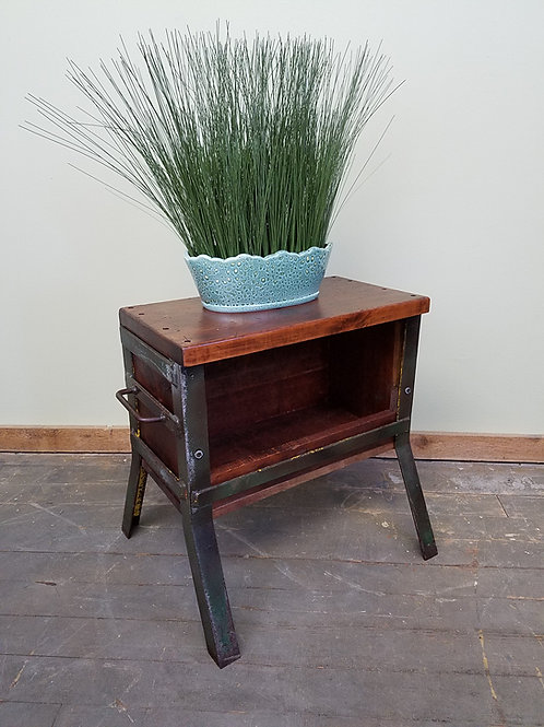 Vintage Industrial Factory Table HAND CRAFTED