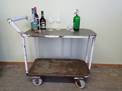 Vintage Industrial Store Stock Cart