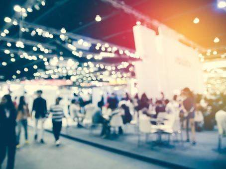 Diferença entre feira, congresso, simpósio e exposição.