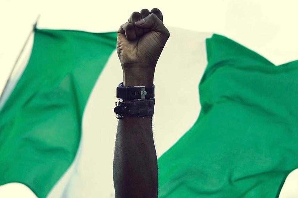 Nigerian flag #EndSARS