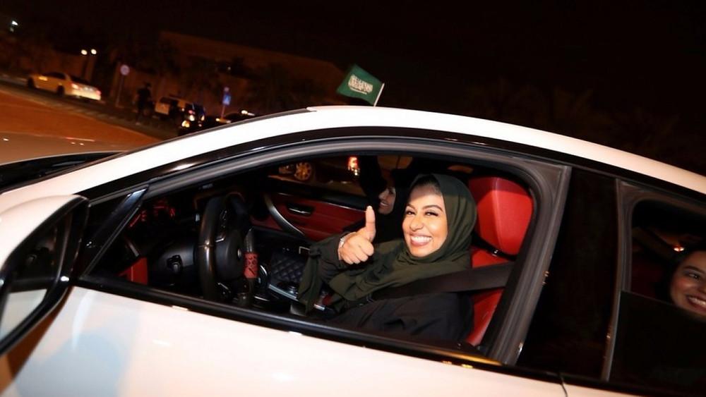 Women Drive in Saudi Arabia
