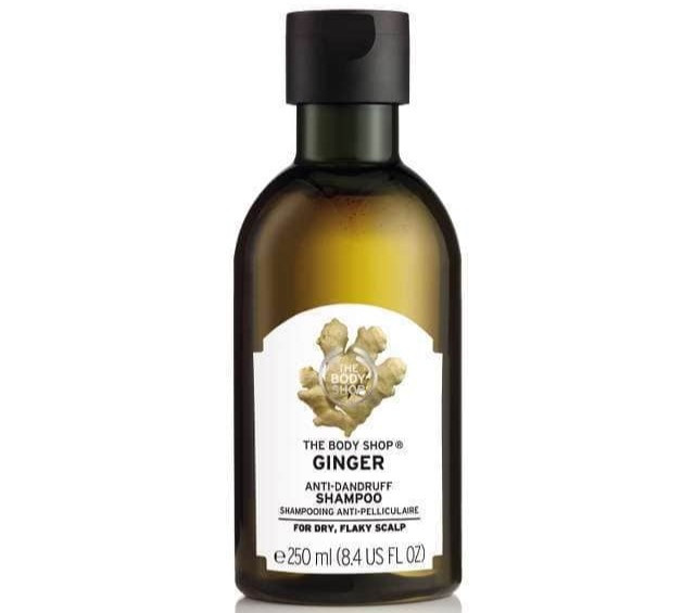 The Body Shop's Ginger Anti Dandruff Shampoo