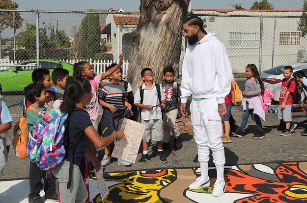 Nipsey in Southcentral LA