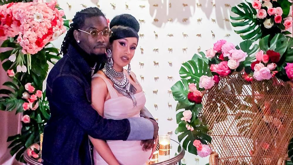 Cardi B and Offset - A Bronx Fairytale baby shower